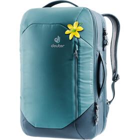 Deuter Aviant Carry On 28 SL Mochila de Viaje Mujer, Azul petróleo/azul